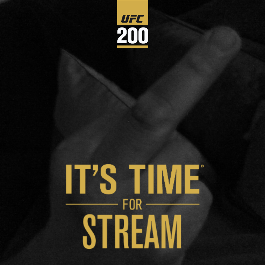 make your own ufc 200 poster